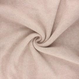 Tissu maille polyviscose Morélie - sable x 10cm