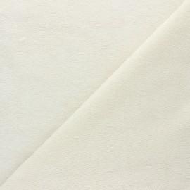 Tissu micro-éponge bambou Calli - écru x 10cm