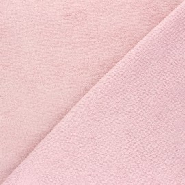 Bamboo micro towel fabric - powder pink Calli x 10cm