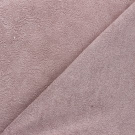 Bamboo micro towel fabric - mineral purple Calli x 10cm