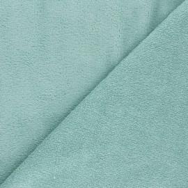 Tissu micro-éponge bambou Calli - amande x 10cm