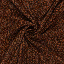 Viscose fabric - camel Calista x 10cm