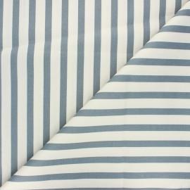 Elastane cotton fabric - raw Molly x 10cm