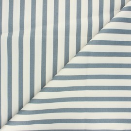 Tissu coton élasthanne Molly - écru x 10cm
