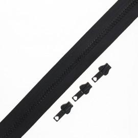 Fermeture Eclair® au mètre Classic (3 curseurs) - noir