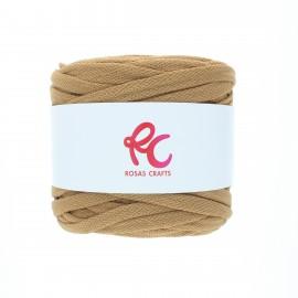 Trapilho quilted yarn - camel Pluma