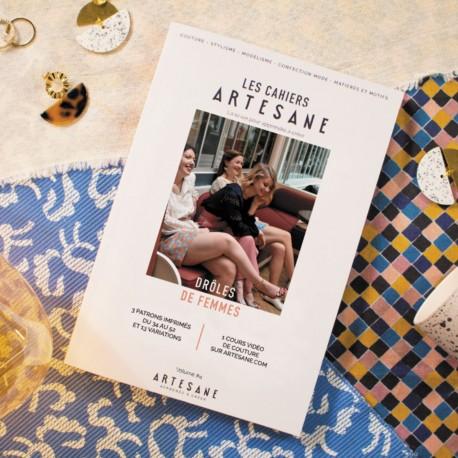 """Magazine """"Les Cahiers Artesane n°4 : Drôles de femmes"""""""