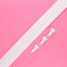 Fermeture Eclair® au mètre Classic (3 curseurs) - blanc