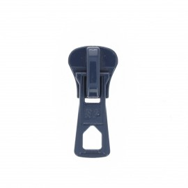 Slider for zippers - navy blue Grand classic