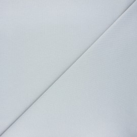 Plain stitched cotton fabric - light grey x 10cm