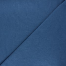 Plain stitched cotton fabric - swell blue x 10cm