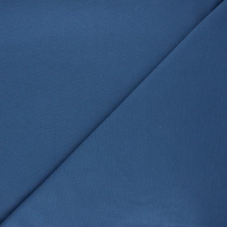 Plain stitched cotton fabric - swell blue x 10cm