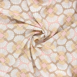 Viscose fabric - sand Elvas x 10cm