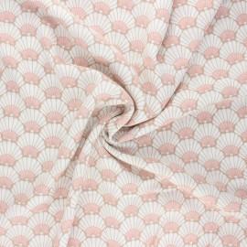 Viscose fabric - sand Little Elvas x 10cm