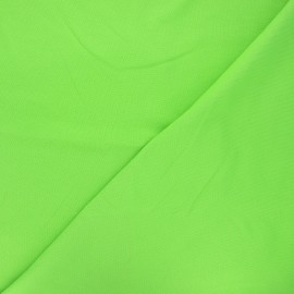 Plain stitched cotton fabric - green x 10cm
