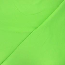 Tissu piqué de coton uni - vert x 10cm