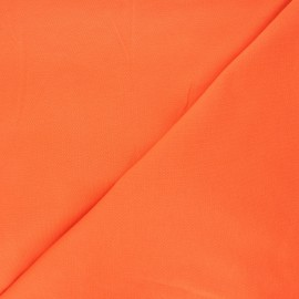 Plain stitched cotton fabric - nasturtium x 10cm