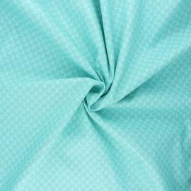 Poplin cotton fabric - opalin Skeleton x 10cm