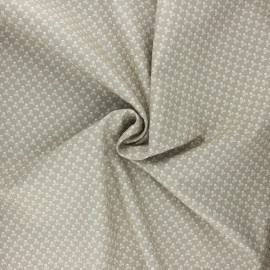 Poplin cotton fabric - grege Skeleton x 10cm