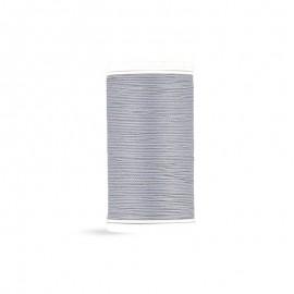 Cotton Laser sewing thread - silver grey - 100m