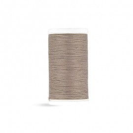 Cotton Laser sewing thread - taupe - 100m