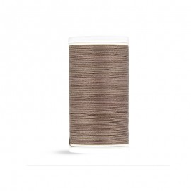 Cotton Laser sewing thread - ashy taupe - 100m
