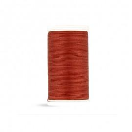 Cotton Laser sewing thread - mahogany - 100m