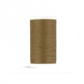 Cotton Laser sewing thread - brown khaki - 100m