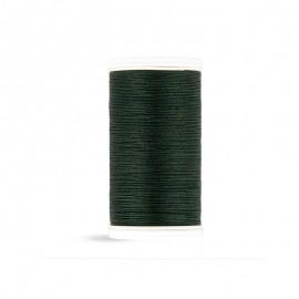 Cotton Laser sewing thread - dark green - 100m