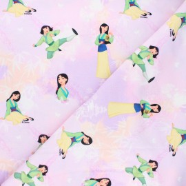 Jersey fabric - parma Sweet Mulan x 10cm