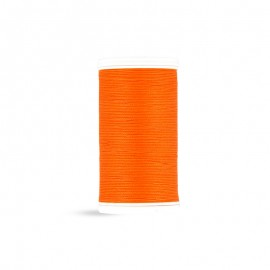 Cotton Laser sewing thread - tangerine - 100m