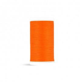 Fil à coudre Laser coton - tangerine - 100m