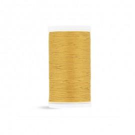 Cotton Laser sewing thread - mustard yellow - 100m