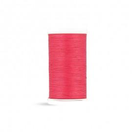 Cotton Laser sewing thread - raspberry - 100m