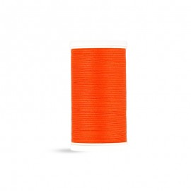 Cotton Laser sewing thread - coral red - 100m