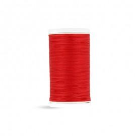 Fil à coudre Laser coton - rouge - 100m