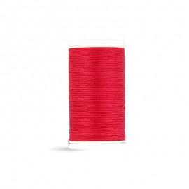 Fil à coudre Laser coton - rouge passion - 100m