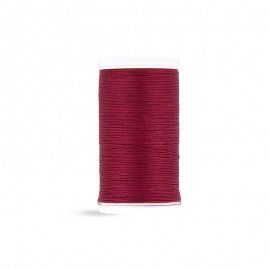Cotton Laser sewing thread - purple red - 100m