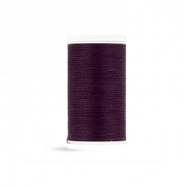 Fil à coudre Laser coton - violet de minuit - 100m