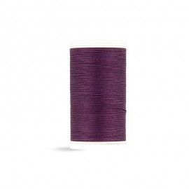 Cotton Laser sewing thread - eggplant - 100m