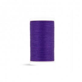 Fil à coudre Laser coton - violet - 100m