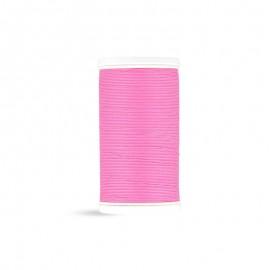 Fil à coudre Laser coton - rose - 100m