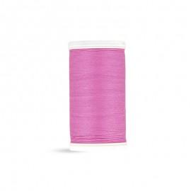 Fil à coudre Laser coton - rose girly - 100m