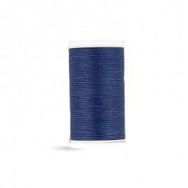 Cotton Laser sewing thread - navy blue - 100m