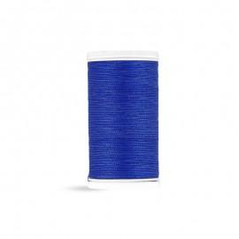 Fil à coudre Laser coton - bleu roi - 100m
