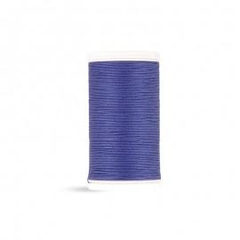 Fil à coudre Laser coton - bleu persan - 100m