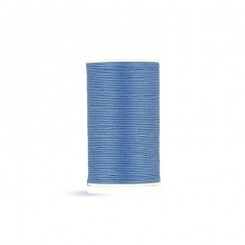 Fil à coudre Laser coton - bleu acier - 100m