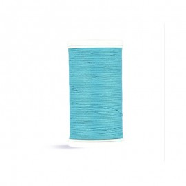 Cotton Laser sewing thread - turquoise - 100m