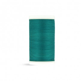 Cotton Laser sewing thread - peacock green - 100m