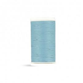 Fil à coudre Laser coton - bleu - 100m